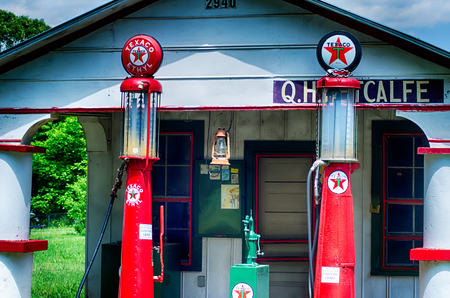 gallons: old gas station in south carolina