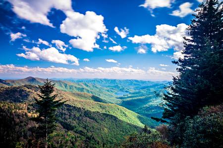 wnc: North Carolina Great Smoky Mountain Scenic Landscape