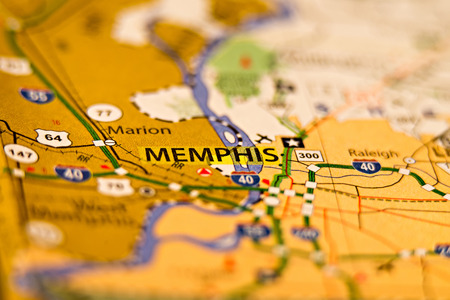 Nashville Tn Area Map Photo Stock Photo, Picture And Royalty Free ...