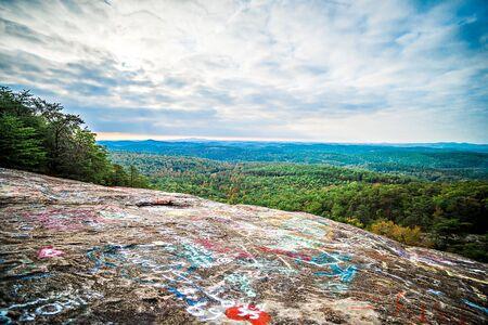 overlook: Ceasars Head State Park overlook