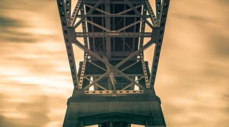 steel engineered highway bridge structure