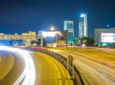night scenes around corpus christi texas Stock Photo