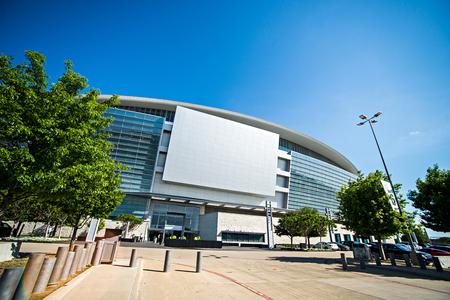 April 2017 Arlington Texas - AT&T NFLcowboys  football stadium on a sunny day Editorial