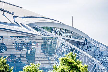 April 2017 Arlington Texas - AT&T NFLcowboys football stadium Editorial