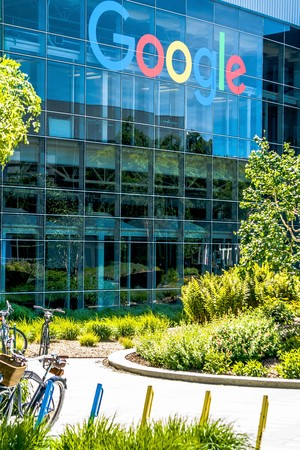 May 2017 Silicone Valley California - Google Headquarters HQ in Silicone Valley California