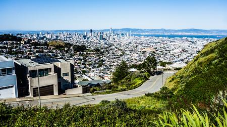 San Francisco Californië centrum en omgeving