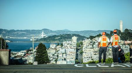 샌프란시스코 캘리포니아 주변의 거리 풍경과 장면