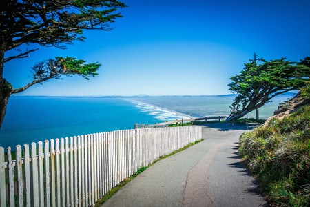 Point reyes national seashore landscapes in california Stock Photo