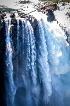 Snoqualmie Falls Washington State nature in daylight
