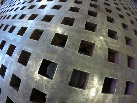 heavy steel welding table in the shop 写真素材