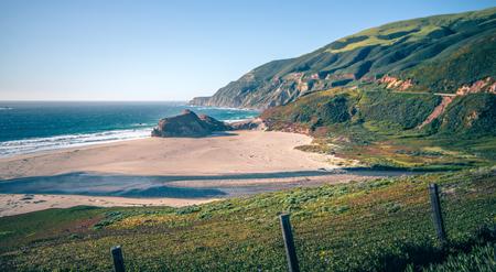 pacific ocean big sur coatal beaches and landscapes