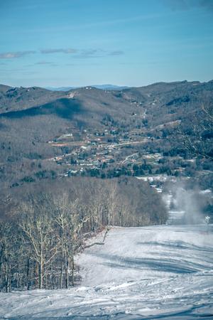 scenic views around sugar mountain ski resort in north carolina mountains