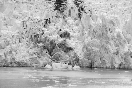 Sawyer Glacier at Tracy Arm Fjord in alaska panhandle