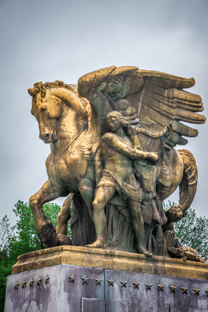 The Arts of War Statues at the Arlington Memorial Bridge - Washington D.C.
