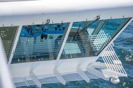 cruis ship close up of ship deck elements Editöryel