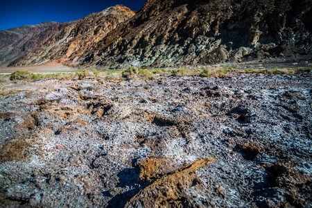 badwater basin death valley national park california Imagens