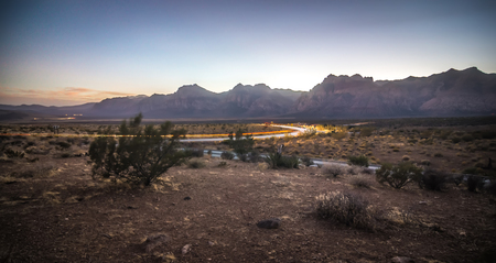 red rock canyon las vegas nevada at sunset