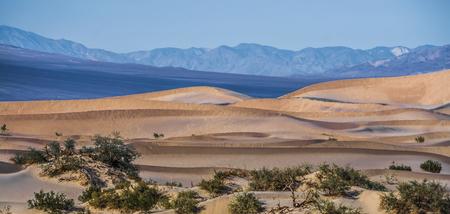 death valley national park sand dunes at sunset Banque d'images - 119593495