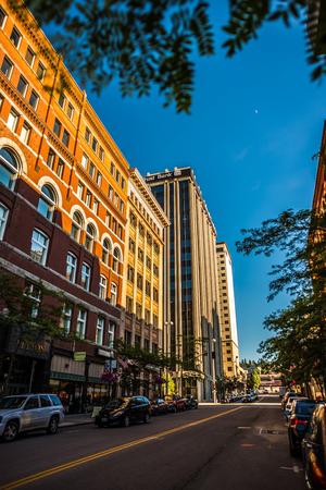 spokane washington city streets Publikacyjne