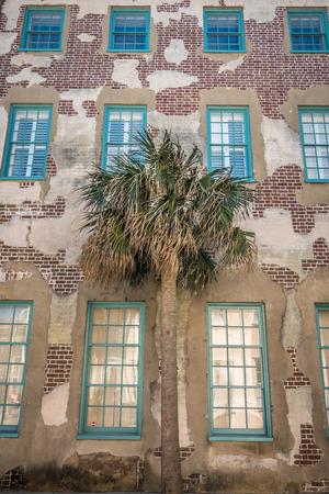 Charleston south carolina historic architecture 版權商用圖片 - 119981721