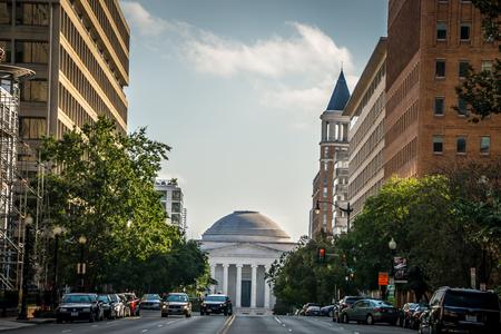 Washington dc city streets and historic architecture Publikacyjne