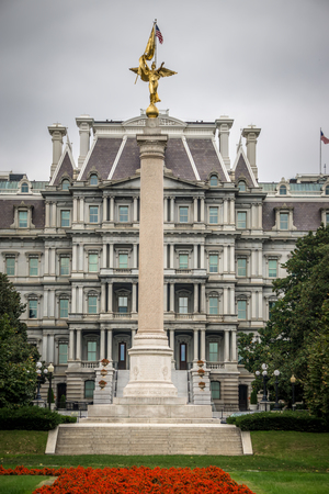 Washington DC, USA - October, 2017: Eisenhower Exectutive Office Building Publikacyjne