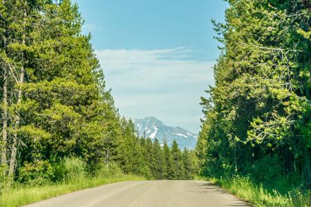 Lake McDonald Glacier National Park 写真素材