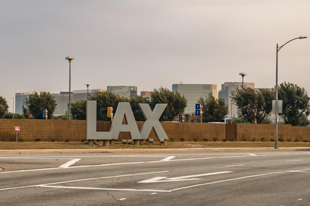 los angeles LAX airport and surroundings