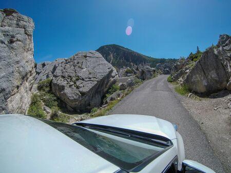road trip through grand tetons and yellowstone Zdjęcie Seryjne