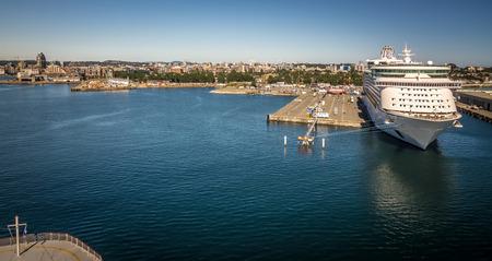 Scenes around Ogden Point cruise ship terminal in Victoria BC.Canada