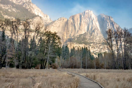 early morning at yosemite national park california
