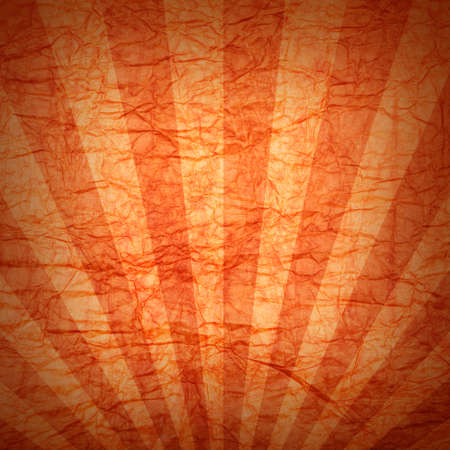 rusted background: Orange background - crumpled paper