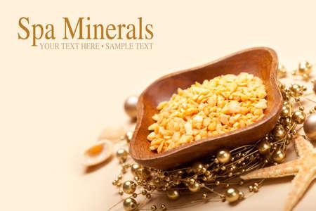 Spa minerals - Sea Spa Stock Photo - 10472108