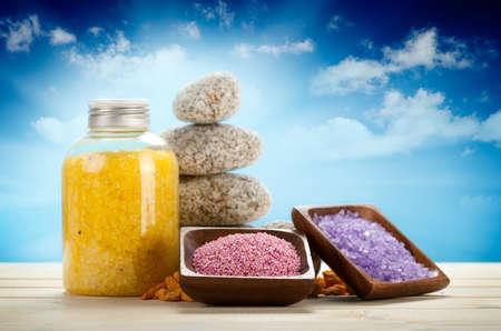 Sól do kÄ…pieli Aromaterapia Zdjęcie Seryjne