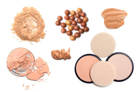 Make up powder Stock Photo - 10472562