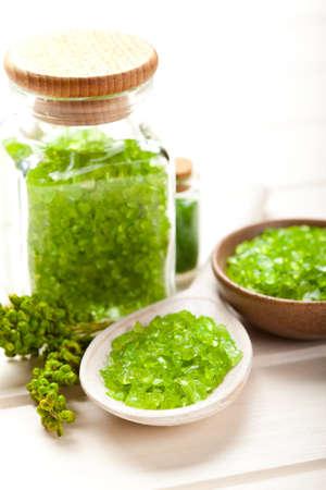 Herbal Spa - Zielona sól do kÄ…pieli Zdjęcie Seryjne