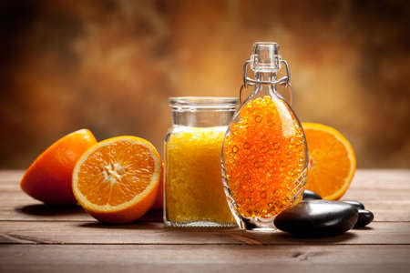 Natural Spa - Orange fruits and minerals photo
