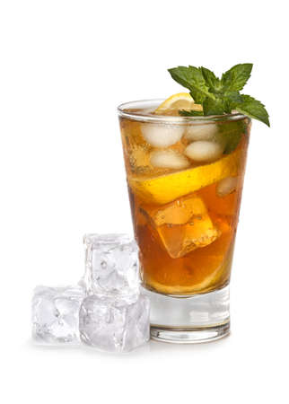 Glass of iced tea Stock Photo - 10552289