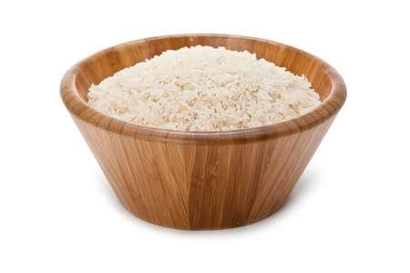 Bowl of rice photo