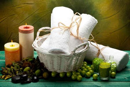 Spa supplies - aromatherapy equipment Stock Photo - 10570855