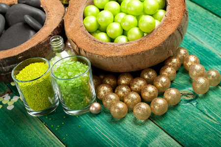 Balls for aromatherapy photo