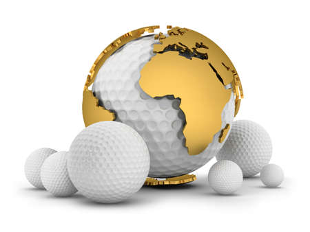 Golf balls photo