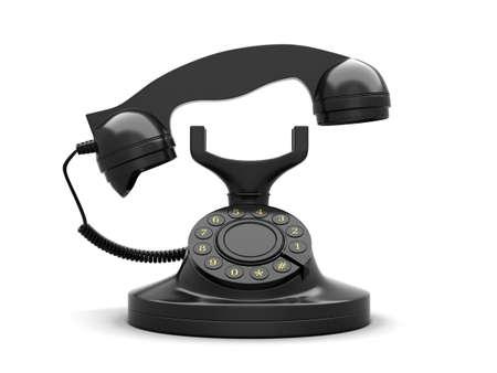 Rotary phone Stock Photo - 16114943