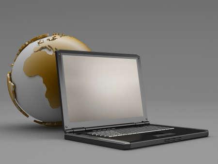 Internet - concept illustration