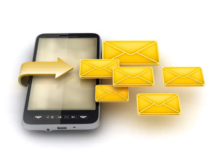 Mobile technology - Short Message Service  SMS  photo