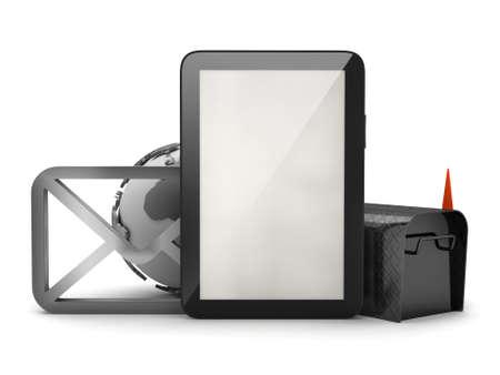 E-mail concept illustration illustration