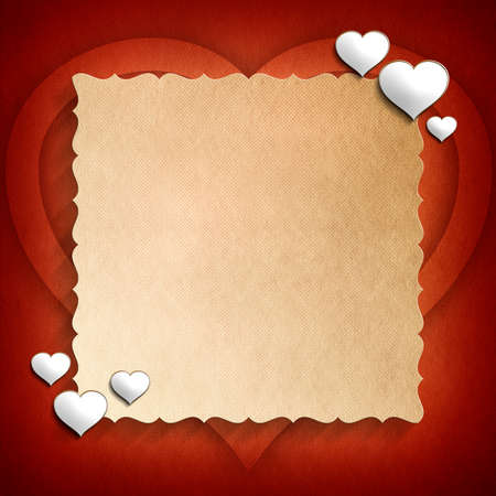 Valentine Day background template photo