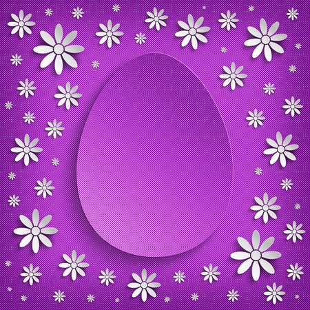 Easter greeting card - background template photo