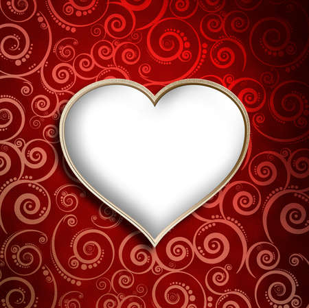 Valentine's Day Card background template photo