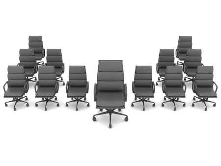 Sedie Da Ufficio Moderne : Leadership concetto sedie foto royalty free immagini immagini